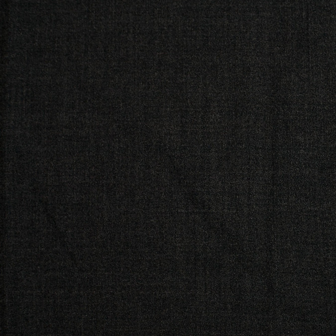 charcoal doubled faced wool polyester crepe 306025 11