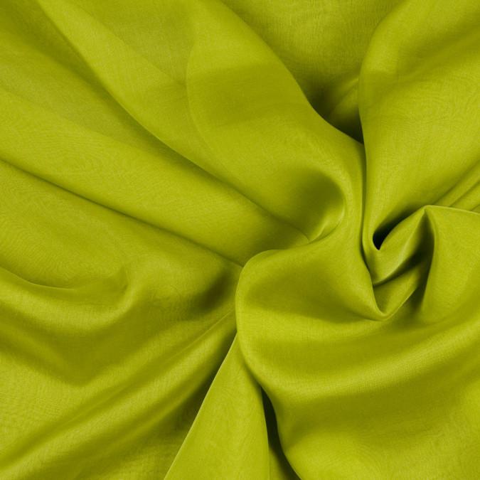 chartreuse silk iridescent chiffon fsisc 18634 11