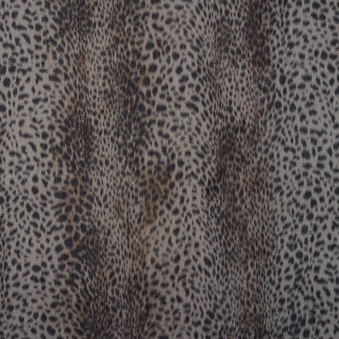 cheetah printed blended wool twill 309169 11