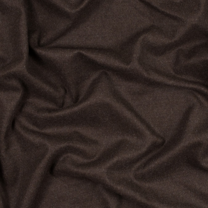 chestnut brushed wool twill 301618 11