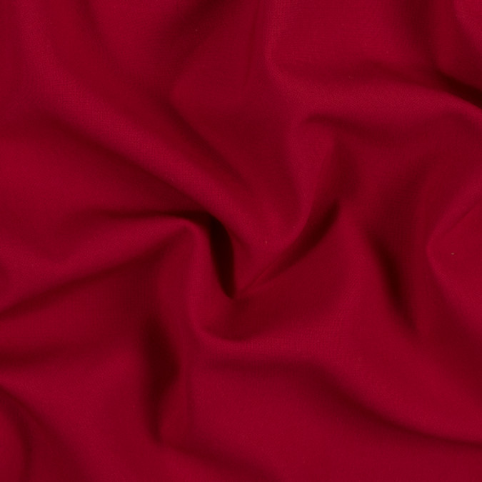 chinese red stretch blended double cloth 314209 11