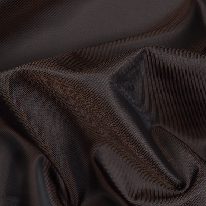chocolate black iridescent twill lining fn26440 11