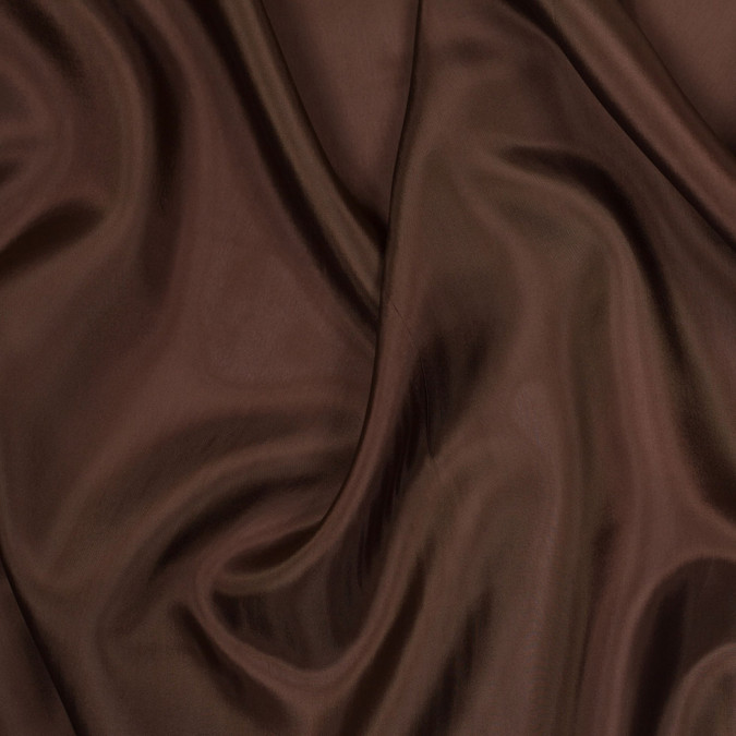 chocolate brown bemberg viscose lining 305407 11