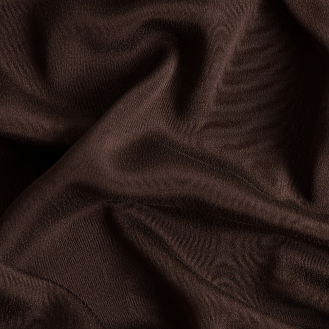 chocolate brown silk crepe fs23136 11