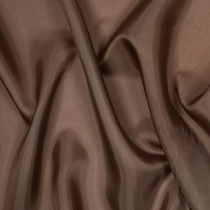 chocolate chip brown bemberg viscose lining 305408 11