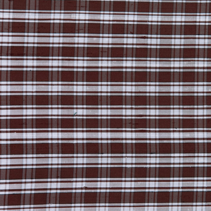chocolate plaid shantung dupioni fs12517 11