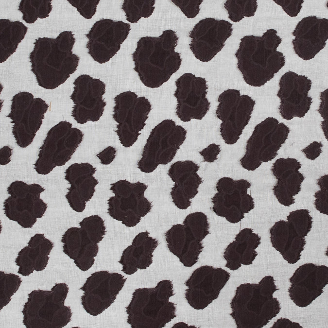 chocolate plum abstract burn out silk chiffon 318737 11
