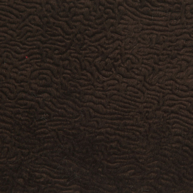 chocolate polyester nylon faux fur fp22277 11