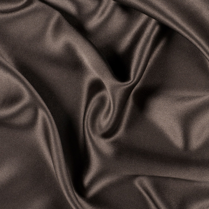 chocolate silk crepe back satin pv8000 189 11