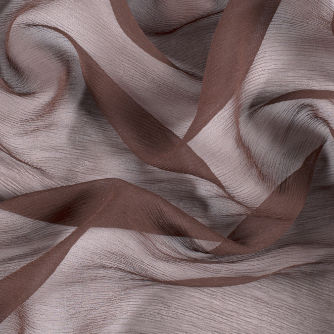 chocolate silk crinkled chiffon pv5100 189 11