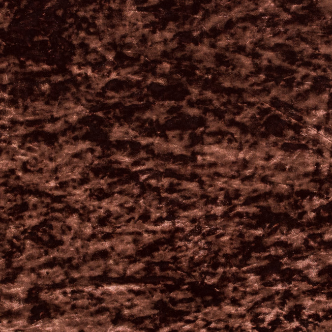 chocolate stretch crushed velour 316417 11