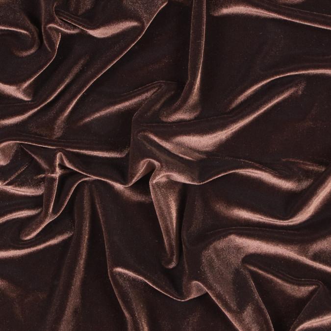 chocolate stretch velour 316411 11
