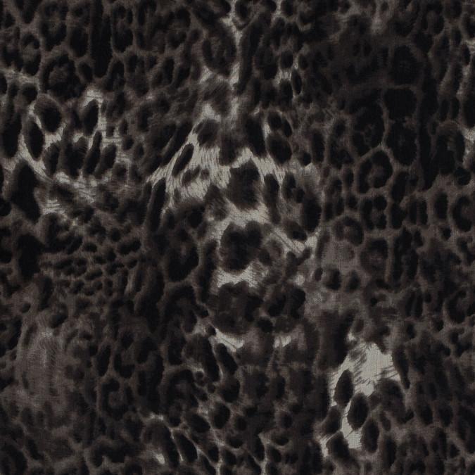 chocolate torte leopard spotted silk chiffon 315763 11