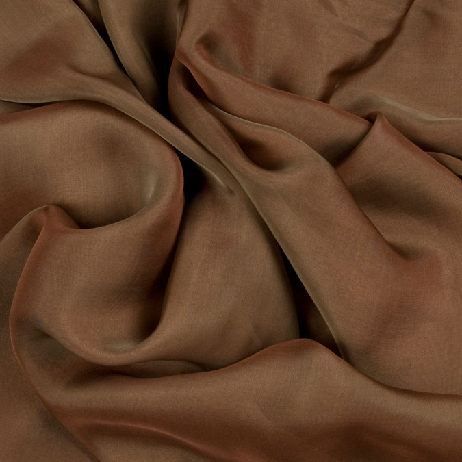 coffee green silk iridescent chiffon fsisc 18679 11