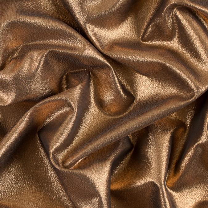 copper black metallic polyester lame 311058 11