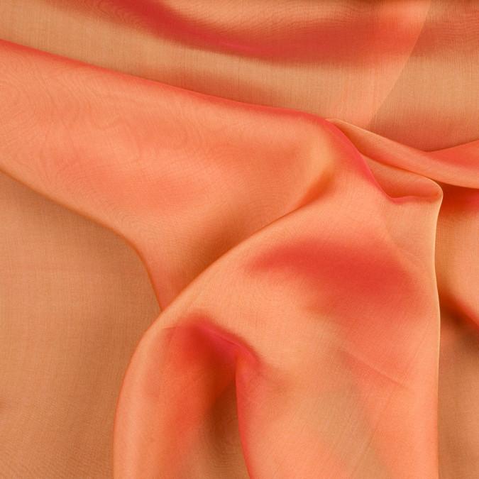 coral silk iridescent chiffon fsisc 18633 11