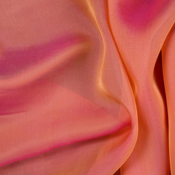 coral silk iridescent chiffon fsisc 18659 11