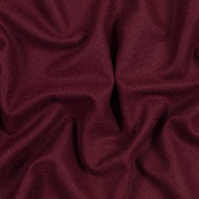 cranberry brushed twill wool coating 317227 11