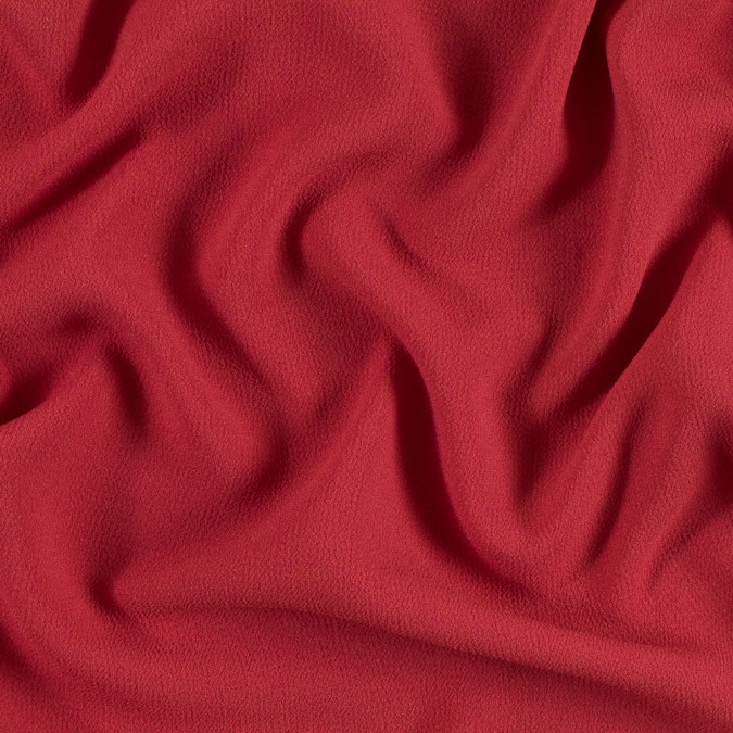 cranberry stretch polyester crepe 312946 11