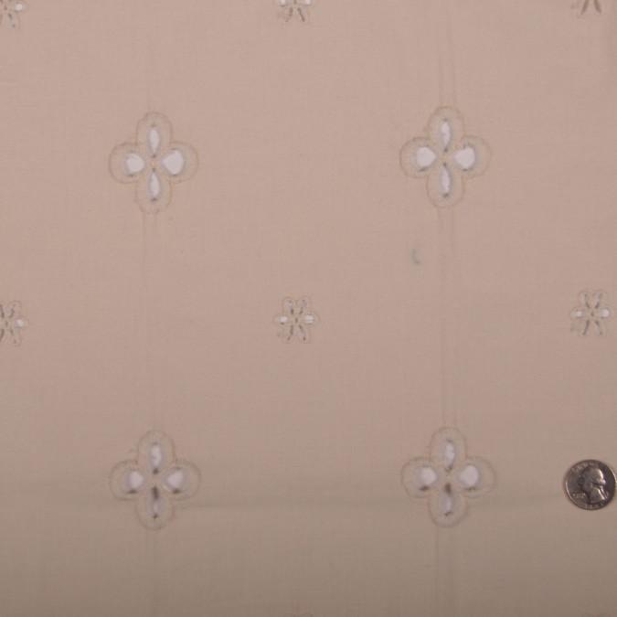 cream floral wool blend eyelet fw11889 11