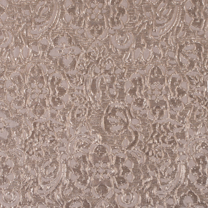 cream gold metallic floral brocade 311771 11
