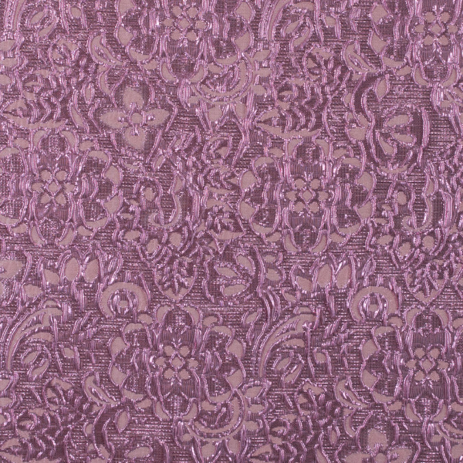 creole pink metallic floral brocade 311817 11