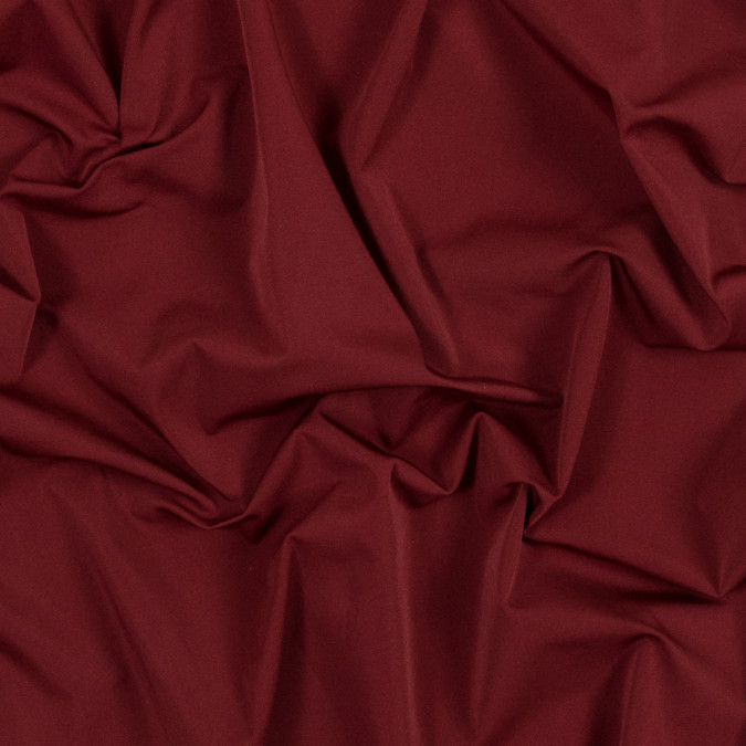 crimson red extremely stretchy polyester woven 317409 11