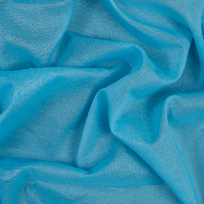 crystal seas blue cotton voile 303781 11