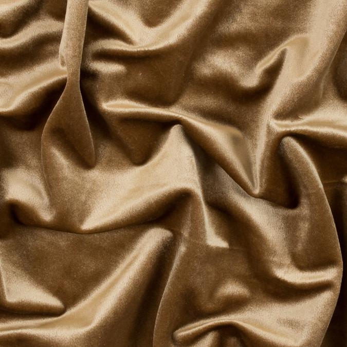 curry gold polyester velvet 313331 11