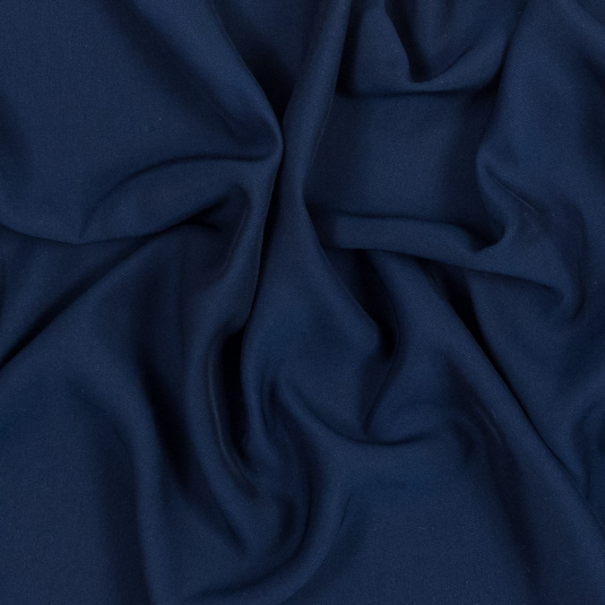 dark blue polyester crepe de chine 319072 11