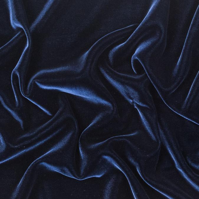 dark blue rayon velvet 319296 11