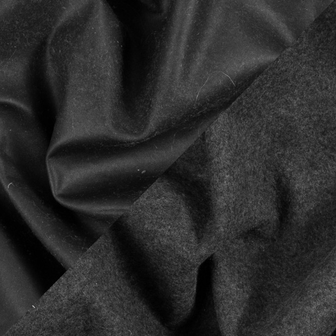 dark brown faux leather on charcoal jersey backing 310625 11