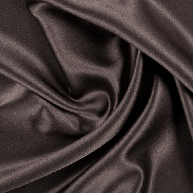 dark brown silk crepe back satin pv8000 190 11
