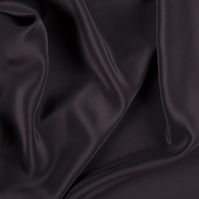 dark brown silk crepe de chine pv1200 190 11