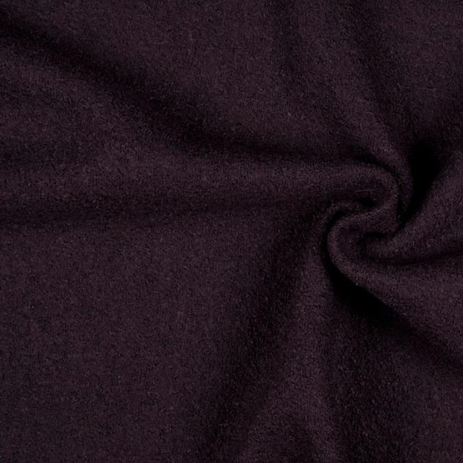 dark brown solid boiled wool fr15874 11