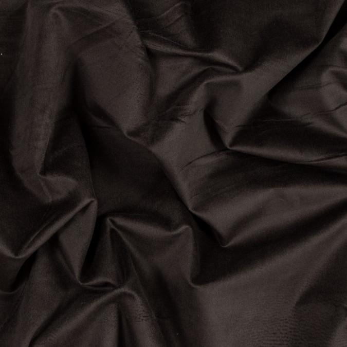 dark brown stretch cotton velveteen 319620 11