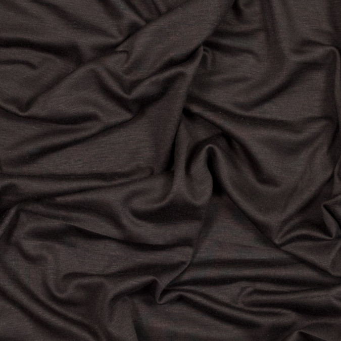 dark brown stretch rayon jersey 319703 11