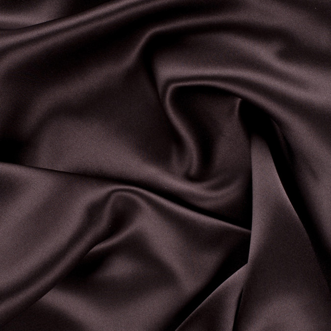 dark brown stretch silk charmeuse pv1500 190 11