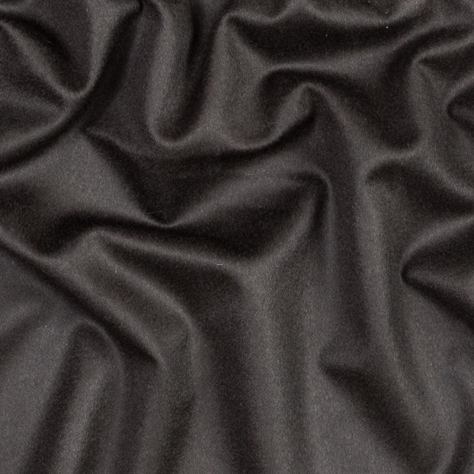 dark brown wool and cashmere coating 317531 11