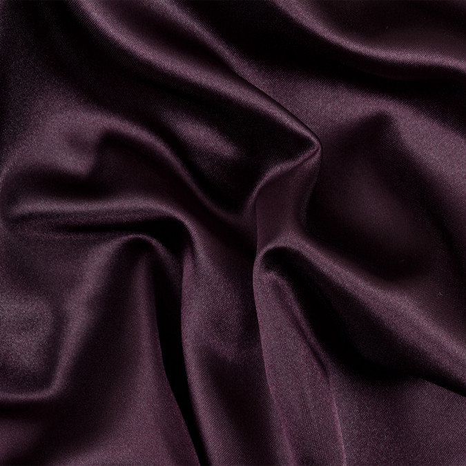 dark burgundy solid polyester satin 303335 11