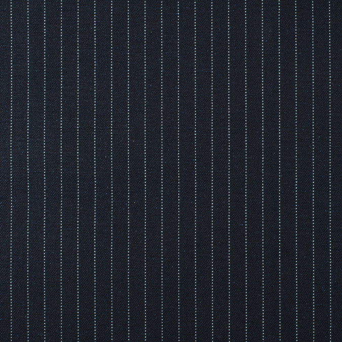 dark navy and whtie pinstriped selvedge denim 13 oz 312906 11