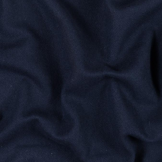 dark navy double sided fleece wool coating 313989 11