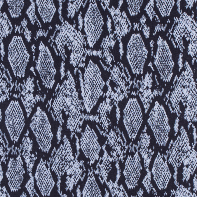dark navy gray dawn flint stone python printed stretch sateen 311919 11