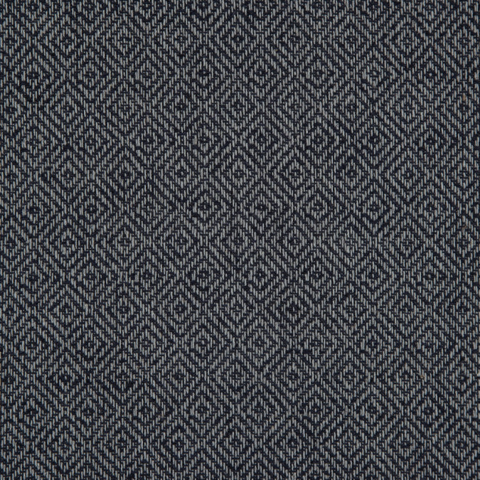 dark navy gray geometric woven cotton jacquard 311626 11