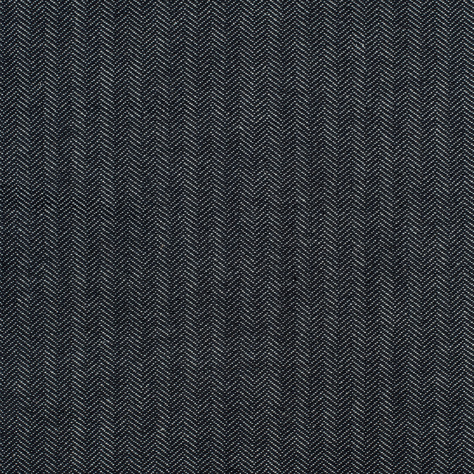 dark navy selvedge denim with chevron design 13 3oz 312905 11