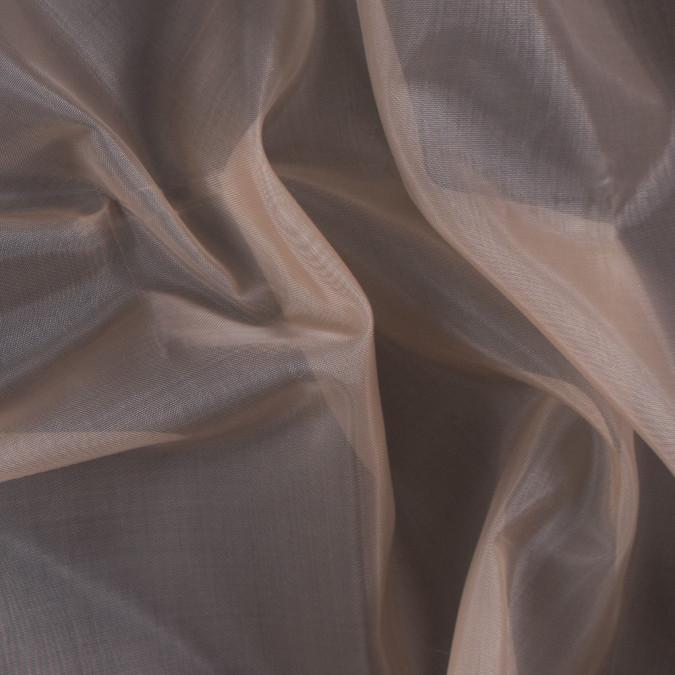 dark nude stiff polyester organdy 115996 11