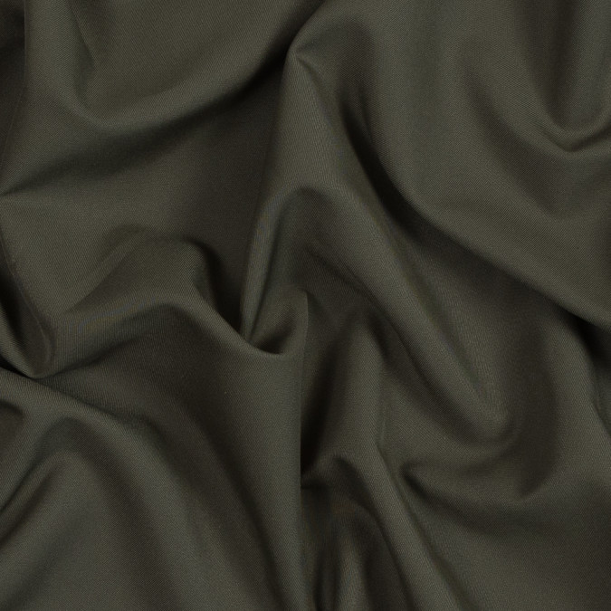 dark olive polyester twill 319076 11