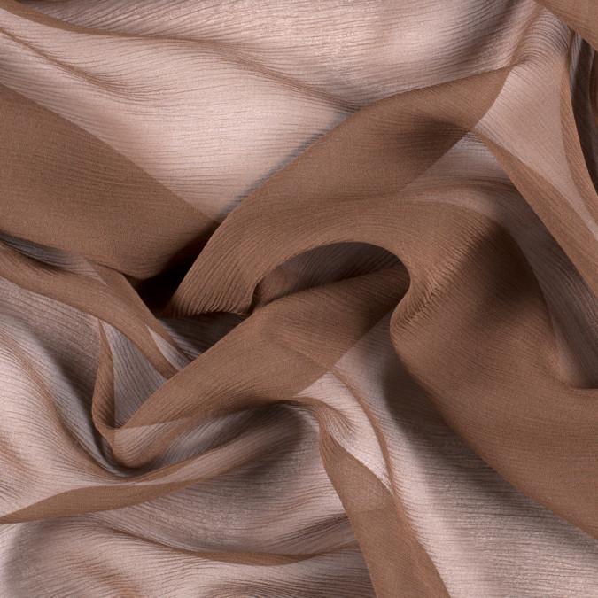 dark olive silk crinkled chiffon pv5100 182 11