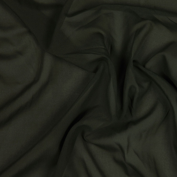 dark olive stretch silk georgette fs22898 11