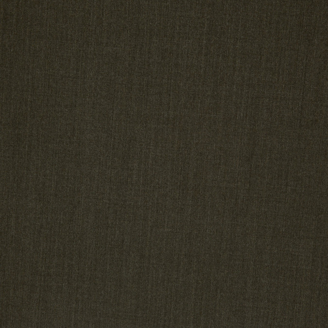 dark olive stretch wool suiting 306537 11